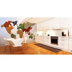 Spiced World Map Wall Mural from http://www.mubuy.com/product/spiced-world-map-wall-mural.html