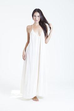 SANTORINI cover up in white — 9seed | Designer Beach Coverups