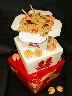 Chinese food cake :)                                                                                                                                                                                 More