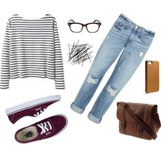 Great outfit for class and just hanging around campus! #collegeoutfit #collegestyle