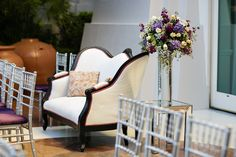 An alternative to traditional ceremony seating Brit Bertino, Event Excellence Www.britbertino.com