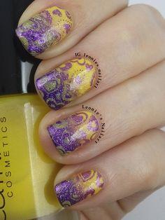 VDay Contrast #wnac2015 - Leonie's Nailart