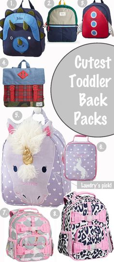 Cutest Toddler Backpacks for Back to School // www.styleyoursenses.com