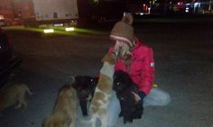 Esnaf Mehic is an animal rescuer in Bosnia. She's one of at least 80 independent rescuers who turned to us for help this month. She asks for so little. She simply needs help to purchase dog food and get the animals essential veterinary care.