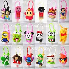 Pair your bath and body works hand sanitizers with cute holders.