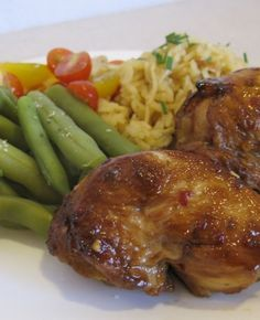 Lady Behind the Curtain » Honey Lime Chicken