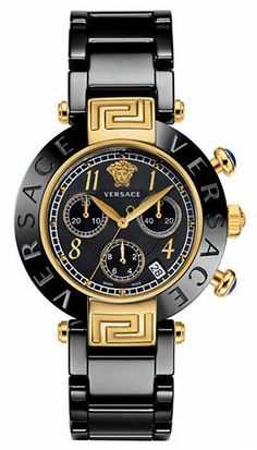 VERSACE Reve Chronograph Watch - unisex - one for me, and one for my hubby!