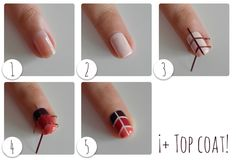 Tutorial Manicura Geométrica - MIA Laurens Paris #NailArt #Manicure #MIAIs5Free #Beauty