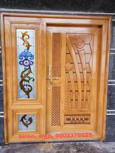 Wooden Front Door Design, Double Door Design, Wooden Front Doors, Grill Door Design, Door Gate Design, House Main Door Design, Pooja Room Door Design, Door Design Interior, Latest Door Designs