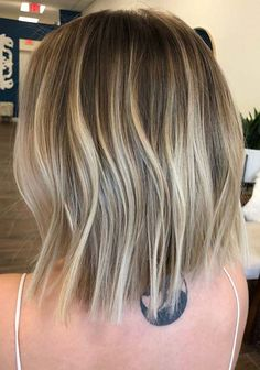 40 Superb Balayage Lob Styles To Create in 2018. The lob or long bob is ideal choice for ladies of different age groups because of its suitable and trendy look. It is famous haircuts because not it is too short not too long, so women always like to wear this style very much. Here you see best ideas of balayage lob hairstyles to create and enjoy in this year.