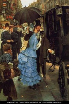 The Bridesmaid - James Jacques Joseph Tissot.  Professional Artist is the foremost business magazine for visual artists. Visit ProfessionalArtistMag.com.- www.professionalartistmag.com