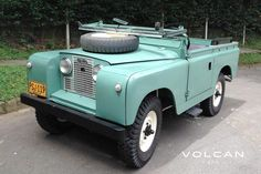 'Alfie' 1960 Land Rover Series II 88 for sale by Volcan 4x4