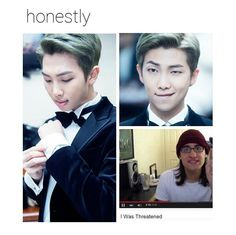 I WILL NEVER STOP REPINNING THIS...DREW AND NAMJOON IN THE SAME PICTURE?!