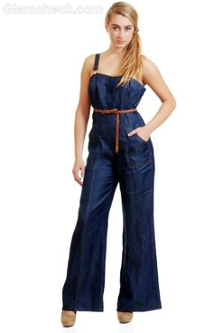 0c2be5fe8a2d What Shoes to Wear with Jumpsuits · Denim ShopDenim  JumpsuitJumpsuitsRompersBlue ...
