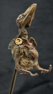 Julia DeVille's Controversial Dead Animal Jewellery #pets