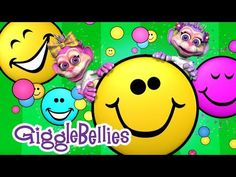 """""""If You're Happy and You Know It"""" with The GiggleBellies- Music video Pr. Pk Songs, Silly Songs, Kids Songs, Kindergarten Songs, Preschool Songs, Preschool Ideas, Music For Kids, Good Music, Brain Break Videos"""