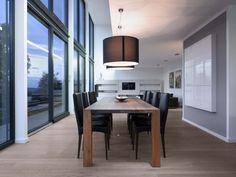meubles salle à manger et suspensions modernes