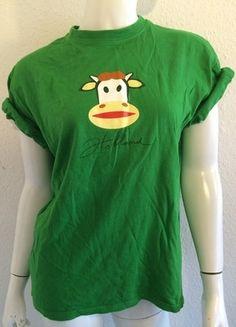 Kaufe meinen Artikel bei #Kleiderkreisel http://www.kleiderkreisel.de/damenmode/t-shirts/115995288-t-shirt-paul-frank-like-holland-kuh-amsterdam-grun-grasgrun-hipster-logoshirt