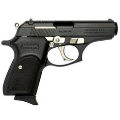 Bersa Thunder Semi Automatic Pistol .380 ACP 3.5 Barrel 7 Rounds Polymer Grips Black with Nickel Accents T380MEB-EXCL