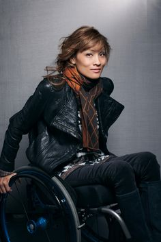 Angela Rockwood for Nordstrom. >>> See it. Believe it. Do it. Watch thousands of spinal cord injury videos at SPINALpedia.com