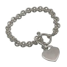 Amazon.com: Heart Love Bracelet Charm Indian Sterling Silver Jewelry for Women: ShalinCraft: Jewelry