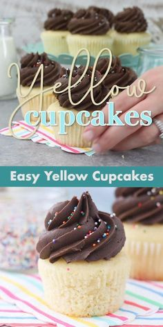 Kid Desserts, Delicious Desserts, Dessert Recipes, Fun Baking Recipes, Sweet Recipes, Easter Recipes, Food Cakes, Cupcake Cakes, Cupcake Mix