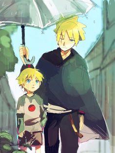 Boruto and little Naruto 💓❤️ Bolt looks like Sasuke. Naruto Uzumaki, Naruto And Sasuke, Anime Naruto, Kid Naruto, Boruto And Sarada, Naruto Comic, Naruto Cute, Naruto Funny, Manga Anime