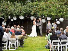 How to Throw a Budget Friendly Backyard Wedding Backyard