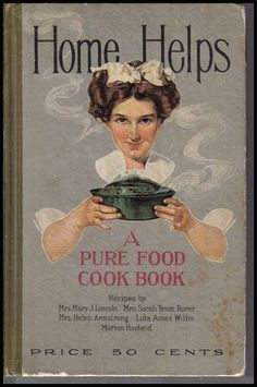 Originally sold at an 1886 fair in Boston, this cookbook was the first to raise funds for and disseminate information about women's suffrage. Description from pinterest.com. I searched for this on bing.com/images
