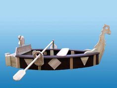 Wikingerschiff Sandkasten 1