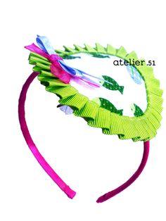 Tocado niña (Diadema) www.facebook.com/atelier51.Plasencia www.atelier51handmade.com