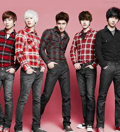 super junior tukki, eun, won, kyu and yeye