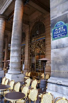 La place Colette, Paris