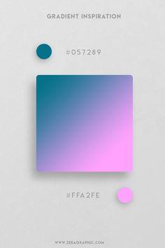 32 Beautiful and unique color gradient inspiration for your next Graphic Design, Web Design, UI/UX Design projects, discover the best Color Design. Colour Pallete, Color Schemes, Color Palettes, Web Design, Creative Colour, Online Coloring, Graphic Design Projects, Color Card, Gradient Color