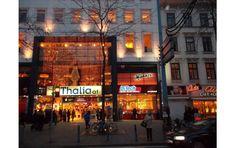 Bei Thalia im 1. Stock
