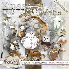 The Studio Christmas Carol Blog Hop ♥♥Join 2,950 people. Follow our Free Digital Scrapbook Board. New Freebies every day.♥♥
