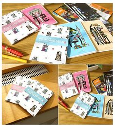 Miraclekorea Tourist Attraction in Seoul Postcard Set B