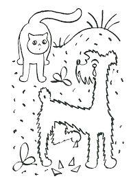 Omalovánka -O pejskovi a kočičce