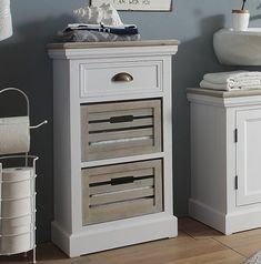 Russel 44 x Freestanding Bathroom Cabinet Massivum Small Dark Bathroom, Large Bathrooms, Mirror Cabinets, Bathroom Cabinets, Bathroom Storage Over Toilet, Under Sink Storage Unit, Free Standing Cabinets, Floating Vanity, New Cabinet