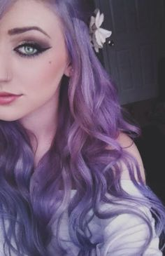 lilac hair.... can.. i get away with this ? 0:)