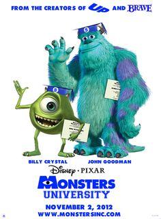 Monsters University, looks hilarious