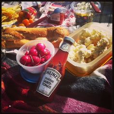 Picknick + Heinz + Kubb + the parc + friends