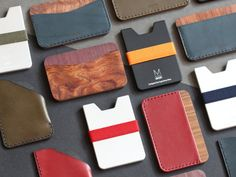 minimalist wallet card wallet thin wallet for by IngeniousBros