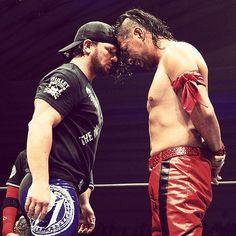 AJ STYLES & SHINSUKE NAKAMURA #NJPW