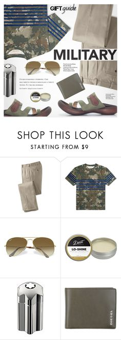 """""""Gift Guide: For Men"""" by regettacanoe ❤ liked on Polyvore featuring Casely-Hayford, Ray-Ban, Detroit Grooming Co., Montblanc, Diesel, men's fashion, menswear, besties, polyvoreeditorial and polyvoreset"""