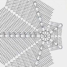 Very Beautiful 😍 Knitting Knittingpa Knittingpattern - Post - Best Knitting Free Crochet Doily Patterns, Crochet Diagram, Crochet Chart, Crochet Doilies, Knitting Patterns, Crochet Cable Stitch, Crochet Disney, Crochet Cushions, Crochet Home