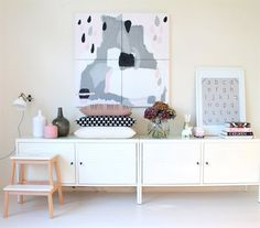 At home in the Netherlands | Marrit adds a feminine touch with splashes of pastel pink | Follow her interiors blog at donebymyself.nl | live from IKEA FAMILY
