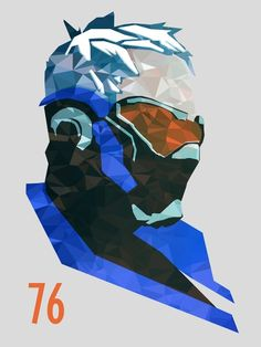 Soldier 76 by Samuel Cooke