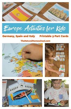 In this post, I will share with you some Europe activities for kids! Take a look at the fun and awesome geography Europe lesson plans that I threw together!