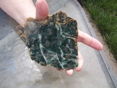 Maraposite slab from a vintage collection #68 by JIMMYDEANSGEMSTONES on Etsy